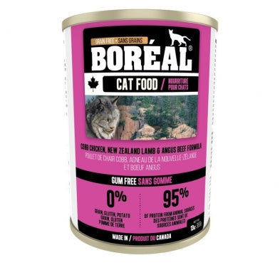 BOREAL Cobb Chicken, NZ Lamb & Angus Beef, 369g *CASE (12 cans)*