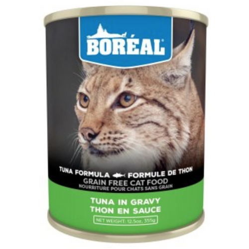 BOREAL Tuna Red Meat in Gravy, 355g *CASE (12 cans)*