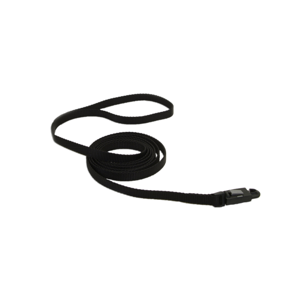 COASTAL Nylon Cat Leash w/E-Z Snap, black