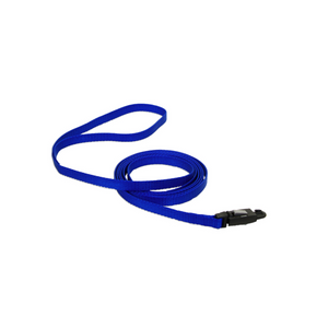 COASTAL Nylon Cat Leash w/E-Z Snap, blue