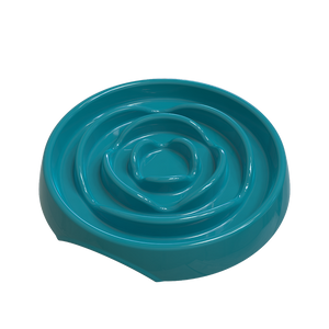 MESSY CATS Melamine Slow Feeder, Blue