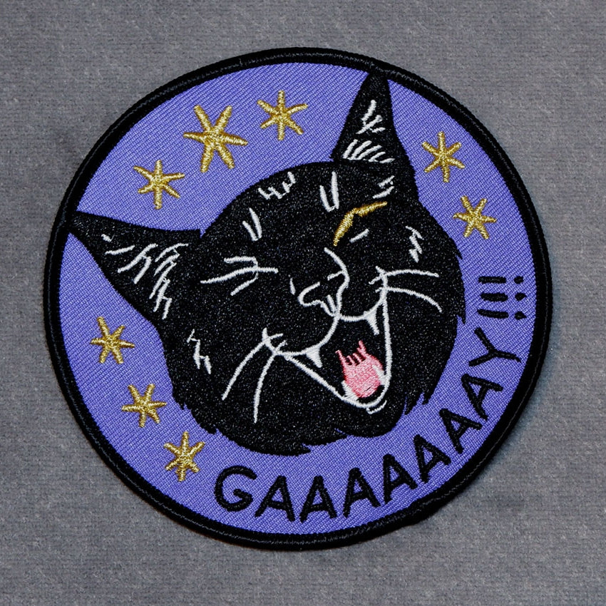 CAT COVEN Gaaaaaaay!!! Embroidered Patch