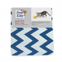 FRESH KITTY Foam Litter Mat Chevron, 40