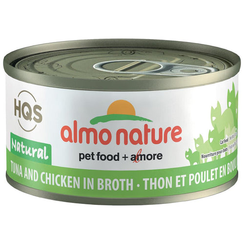 ALMO Natural Tuna & Chicken in Broth, 70g