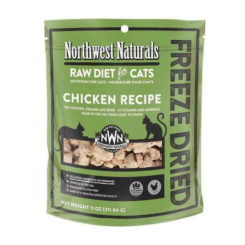 NORTHWEST NATURALS Freeze Dried Chicken Recipe, 11oz