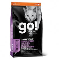GO! Carnivore Chicken, Turkey & Duck Recipe, 3.6kg