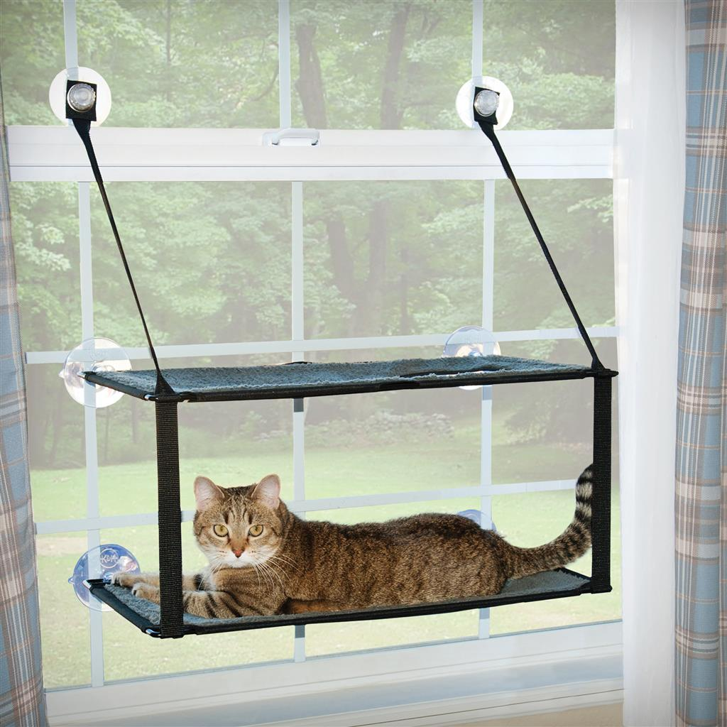 K&H PET Kitty Sill EZ Window Mount Double