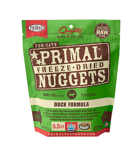 PRIMAL Freeze-Dried Duck Formula, 5.5oz