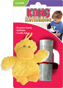 KONG Refillable Catnip Duckie