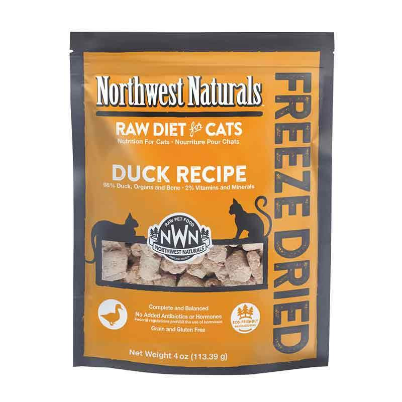 NORTHWEST NATURALS Freeze-Dried Duck Nibbles, 4oz