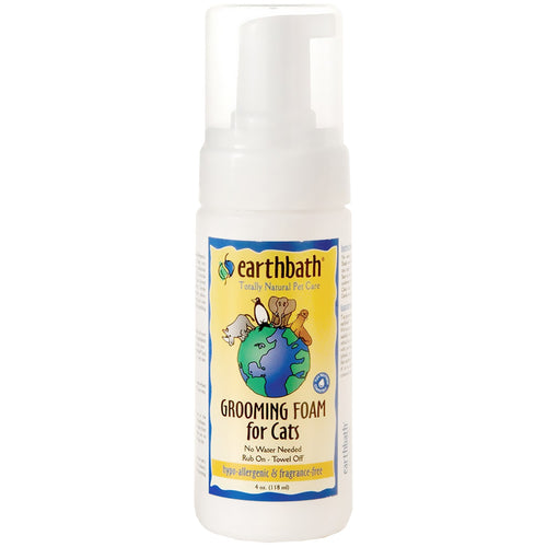 EARTHBATH Hypo-Allergenic Grooming Foam, 118ml