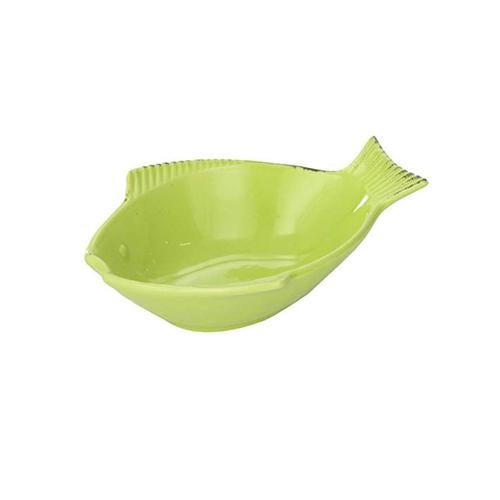 ONE FOR PETS Fish Shaped Ceramic Kibble Dish 7