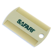 SAFARI Double-Sided Flea Comb