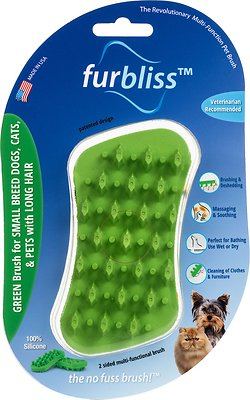 FURBLISS Green Brush Long Hair