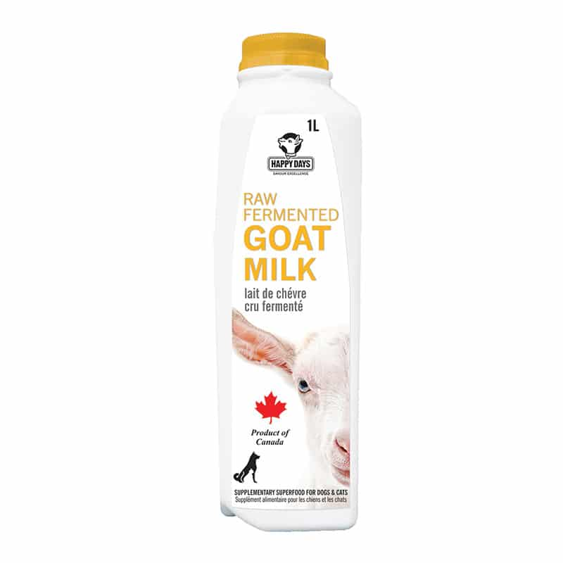 HAPPY DAYS Raw Fermented Goat Milk, 490ml
