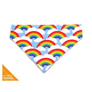 MADE BY CLEO Rainbow Magic Slide-On Bandana