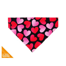 Load image into Gallery viewer, MADE BY CLEO Ombre Hearts Slide-On Bandana