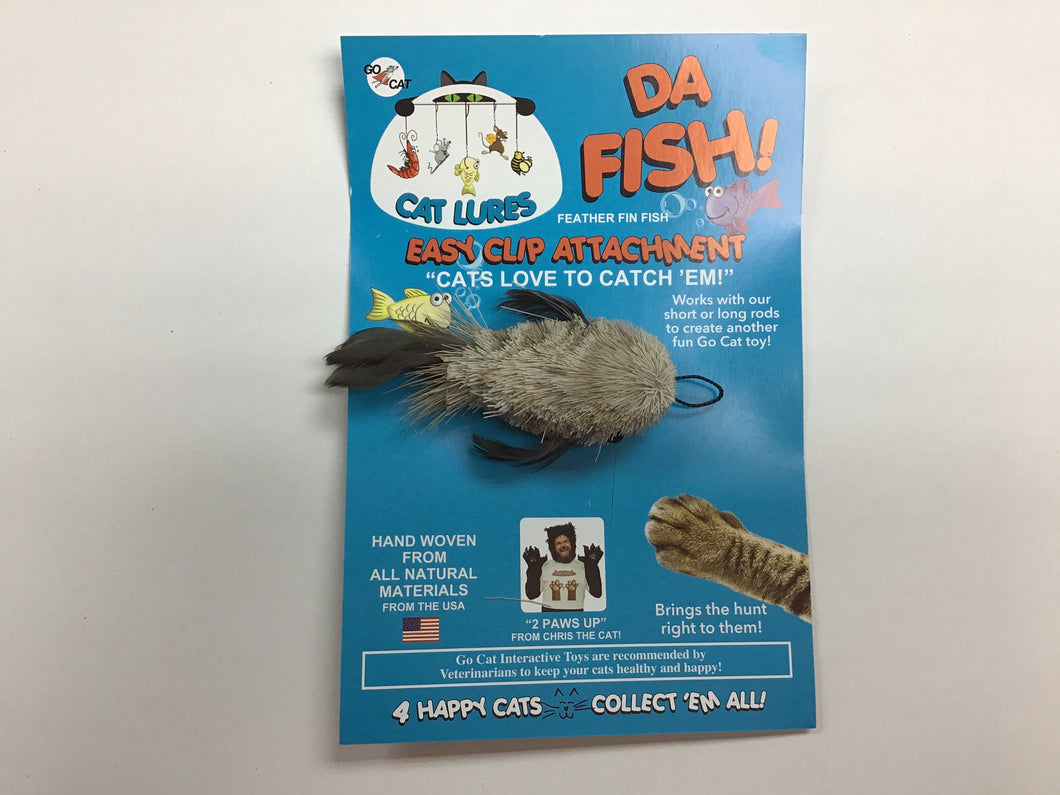 GO CAT Da Feather Fin Fish Attachment