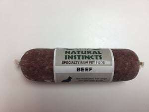 Natural Instincts Raw Beef Non-Medicated, 250g