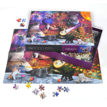 Load image into Gallery viewer, FRED Galaxy Cats 1000 Piece Puzzle