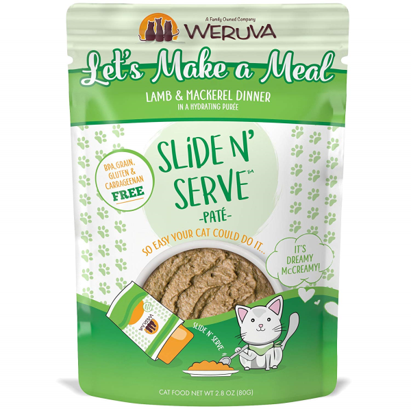 WERUVA Slide N' Serve Pâté Let's Make a Meal, 80g pouch