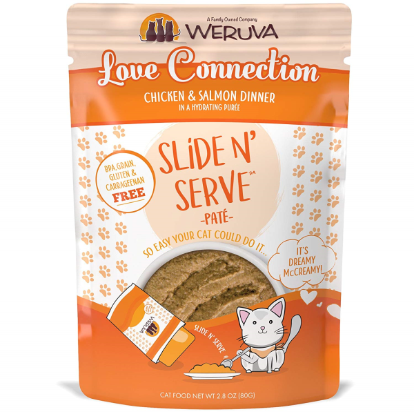 WERUVA Slide N' Serve Pâté Love Connection, 80g pouch