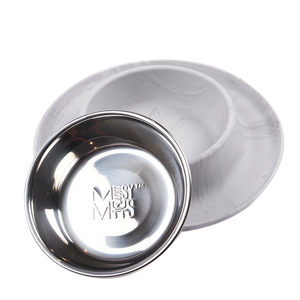 MESSY CATS Silicone Feeder, Marbled Grey