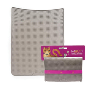 MESSY CATS Litter Mat, Grey