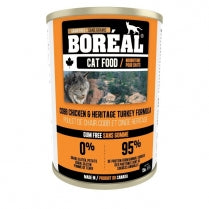 BOREAL Cobb Chicken & Heritage Turkey Formula, 369g *CASE (12 cans)*