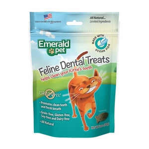 EMERALD PET Dental Treats Ocean Fish, 3oz