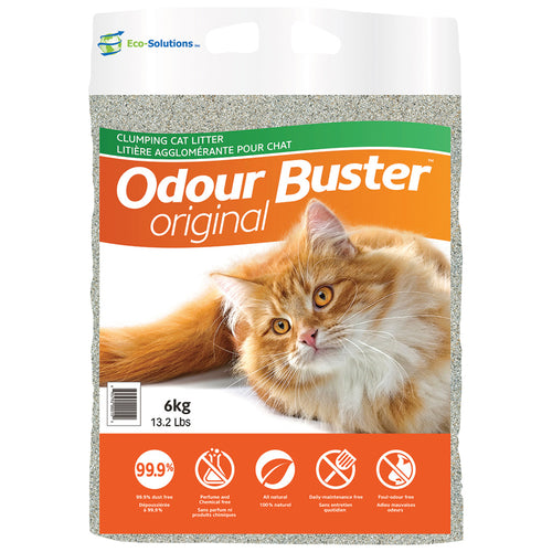 ECO-SOLUTIONS Odour Buster Original Clay Litter, 6kg