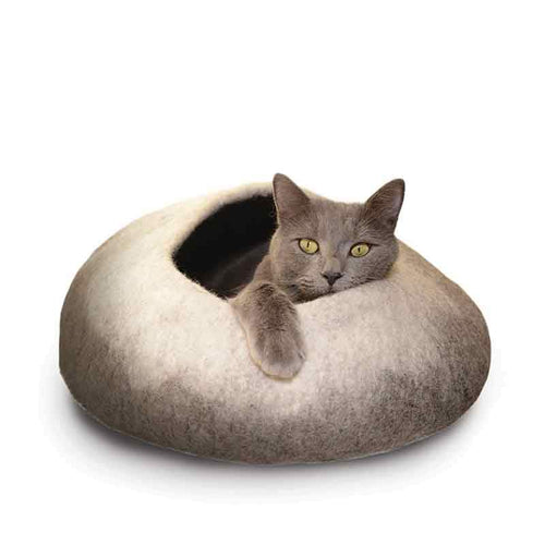 KARMA CAT Wool Cat Cave Ombre, Natural