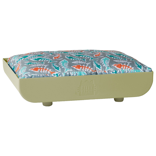 KITTY KASA Penthaus Bed, Taupe