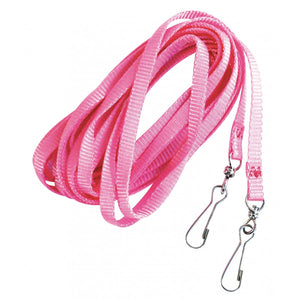 BURGHAM 15 ft. Nylon Tie-Out Leash, Pink