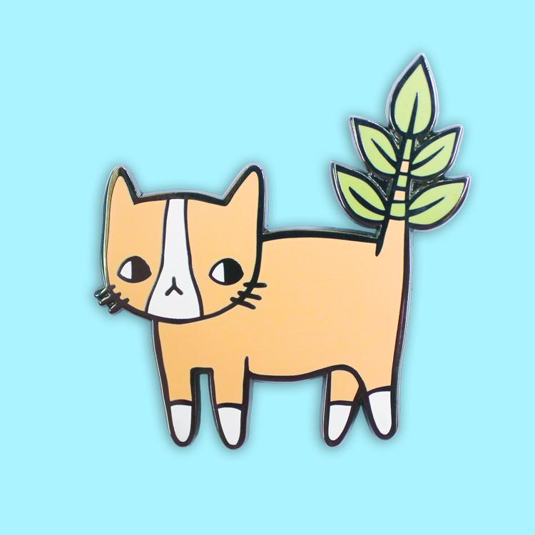 PONY PEOPLE Plant Kitty Pin