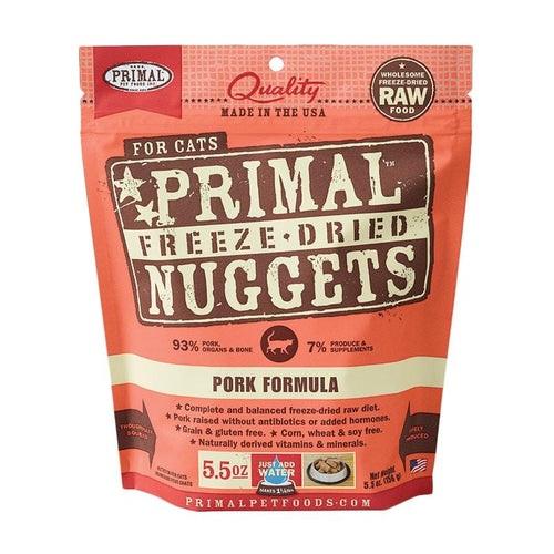 PRIMAL Freeze-Dried Pork Formula, 5.5oz