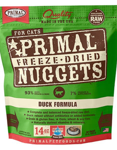 PRIMAL Freeze-Dried Duck Formula, 14oz