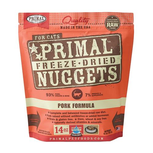 PRIMAL Freeze-Dried Pork Recipe, 14oz