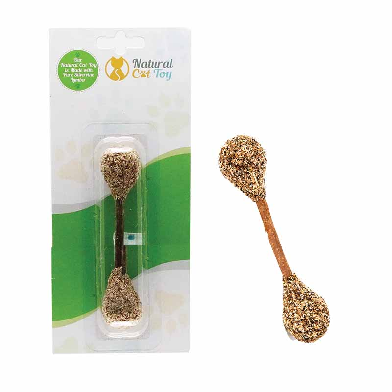 NATURAL CAT TOYS Silver Vine & Catnip Chew Toy