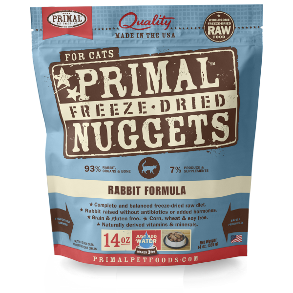 PRIMAL Freeze-Dried Rabbit Formula, 14oz