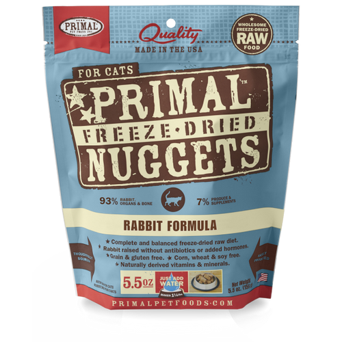 PRIMAL Freeze-Dried Rabbit Formula, 5.5oz