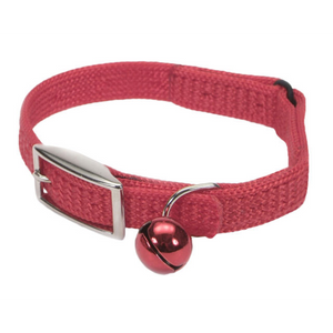 "COASTAL Sassy Snag-Proof Nylon Safety Collar 10"", Red"