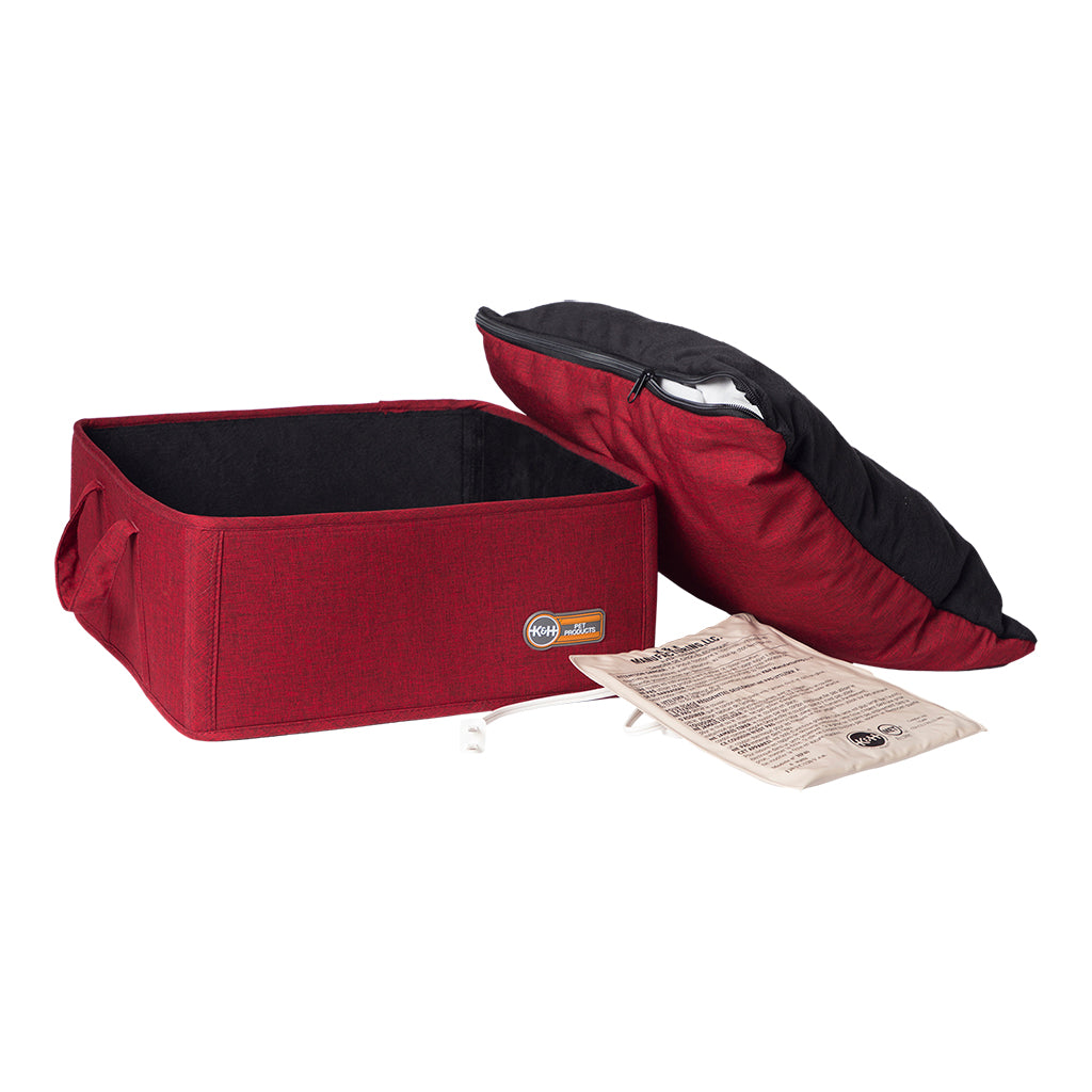 K&H Thermo Basket Bed Red, 15