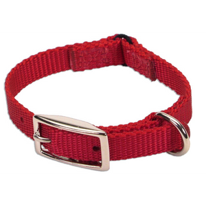 "COASTAL Nylon Safety Collar 10"", Red"