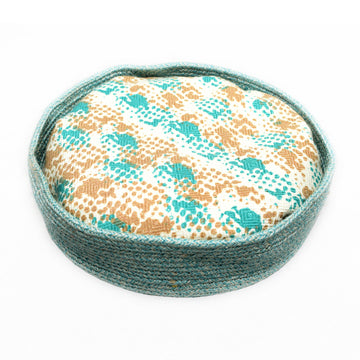 RESPLOOT Rope Basket Bed, 35cm x 12cm