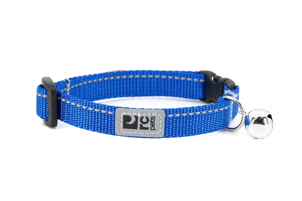 RC PETS Primary Kitty Breakaway Collar, royal blue