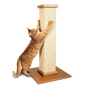 "SMART CAT Ultimate Scratching Post, 16""x16""x32"""