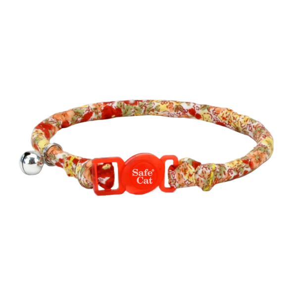COASTAL Safe Cat Round Fashion Collar, Floral