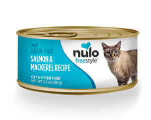 NULO Grain-Free Salmon & Mackerel Recipe, 156g