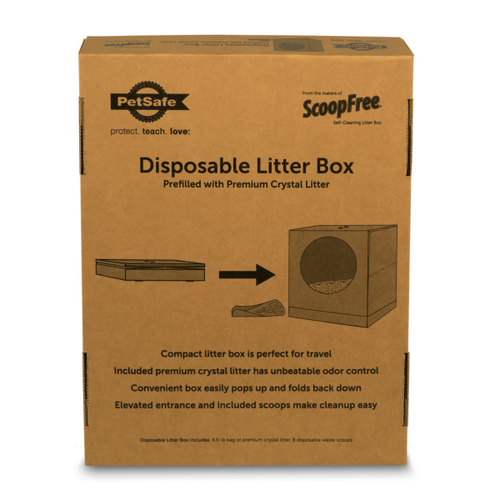SCOOP FREE Disposable Litter Box